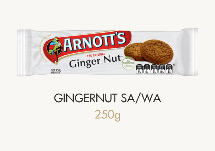 Ginger Nut Biscuits Info