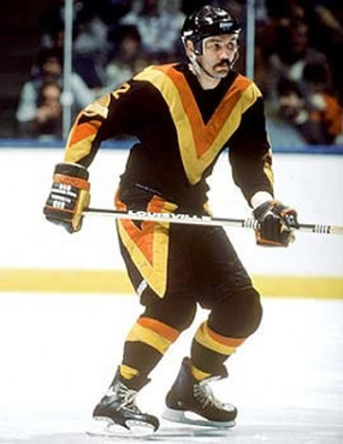 Worst Fashion Crimes in NHL History This tri-color V-jersey sported by the Vancouver Canucks
