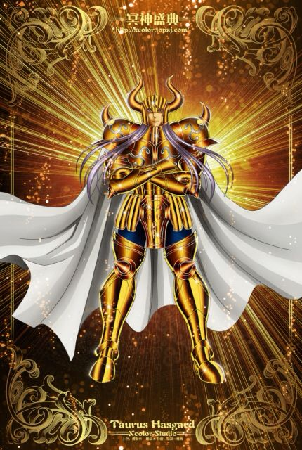 Saint Seiya - The Lost Canvas - Taurus Hasgard