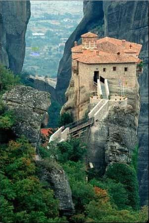 Meteora Greece: Exotictravel Luxurytravel, Exotic Travel, Travel Destinationsmayb, Favorite Places, Dreams Vacations, Vacations Spots, Travel Greece, Crazy Places, Dreams Destinations