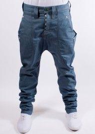 Humor Zanka Drop Crotch Jeans