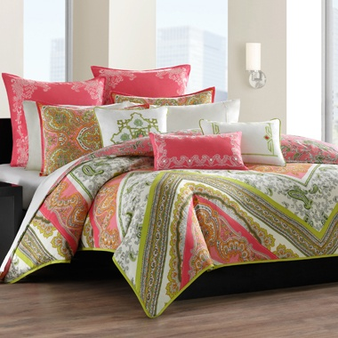 Image detail for -Echo Design™ Gramercy Paisley Full/Queen Comforter Set, 100% Cotton ...
