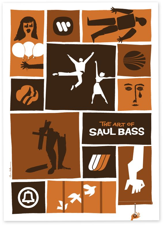 Saul Bass: The guy who did the most amazing opening credits for