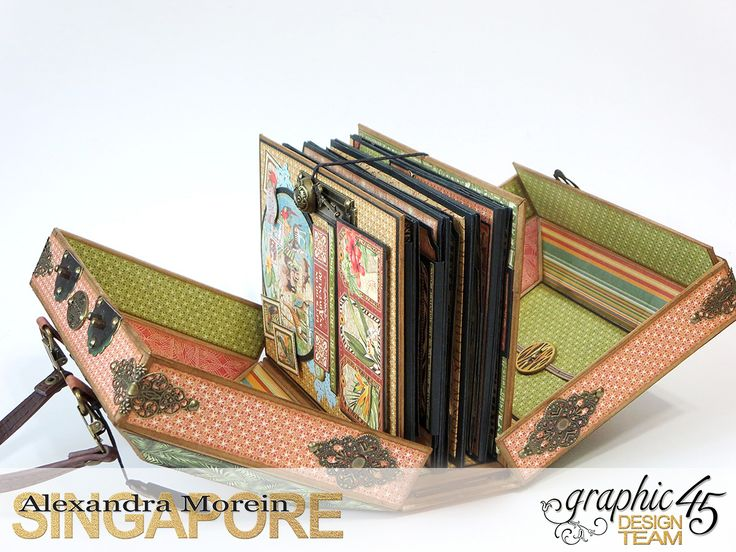 Safari Adventure Graphic 45, travel case and album                                                                                                                                                     More
