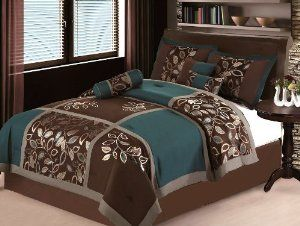 Blue And Brown King Bedding Sets