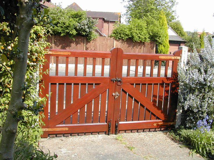 Hand made hardwood gates