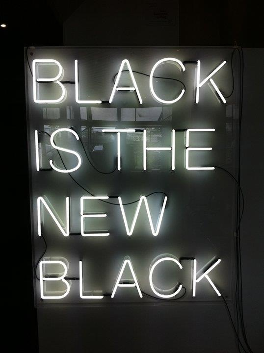 black is the new black  | via Always|StyleCaster
