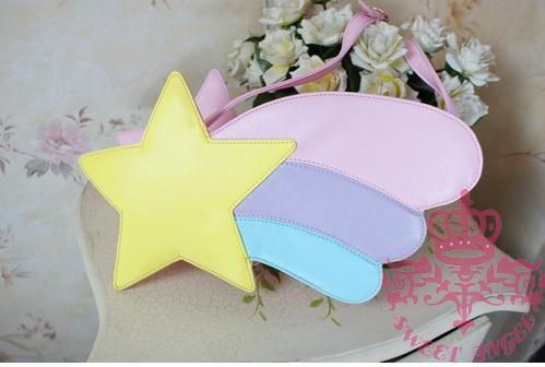 So pretty. Shooting star bag.