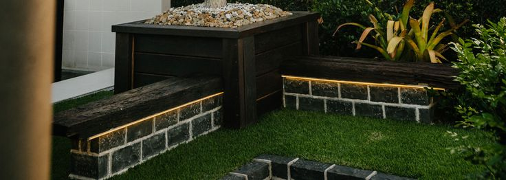 Fire, Water and Stone | Yards Landscaping