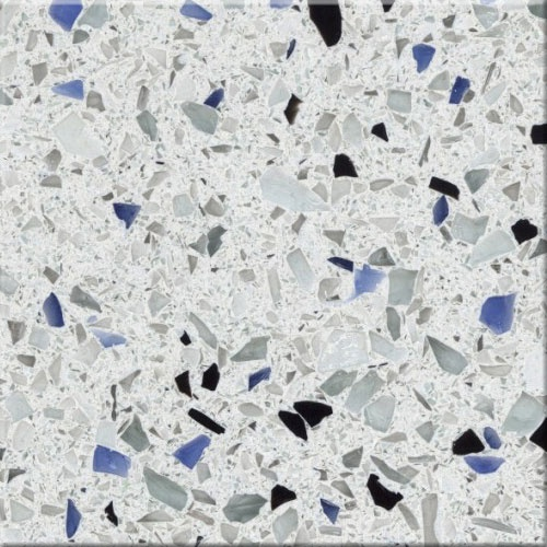 Arctic By Curava Recycled Glass Countertops For Our