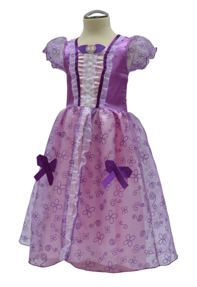 Prinses Sofia jurk schuin
