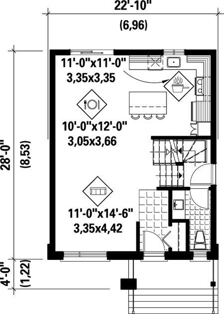 136 best House Plans images on Pinterest | Floor plans, House floor ...