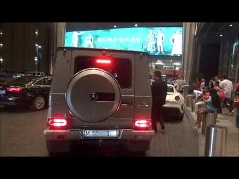 G63 AMG Mercedes-Benz of Sheikh Mohammed bin Rashid Al Maktoum No. 1 سيارة حاكم دبي - YouTube