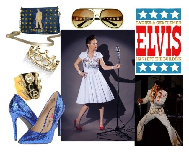 elvis style by ticci rockabilly clothing by ticci-1 on Polyvore featuring Penny Loves Kenny, Elvis Presley Signature Product and Erica Courtney