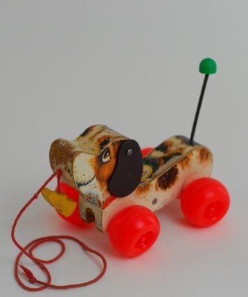 Vintage Fisher Price Pull Along Dog - I had this when I was little: Snoopy Dogs, Puppies, Childhood Memories, Niddl Noddl, Old Fisher Price Toys, Vintage Fisher Price, Price Pull, Dogs Pull, Favorite Toys