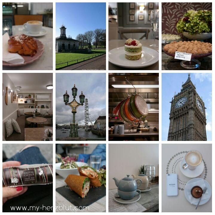 Best of London - meine kulinarischen Highlights als gesammelte Werke und auf einem Blick.