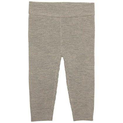 Dejlige lune baby leggings fra FUB, i helt fin grå strik.  Med bred blød elastik i taljen. Uundværlige i basis garderoben.