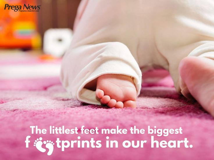 That crawl, those tiny feet. How they melt our heart!
