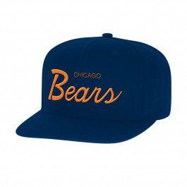 Solid Script Snapback<br>Chicago Bears