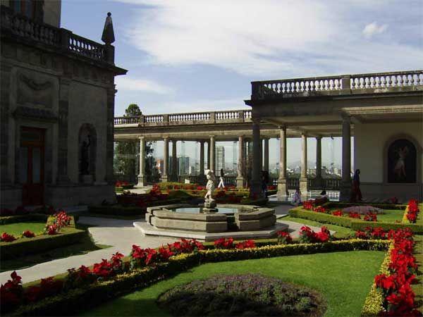 Gardens of Chapultepec Castle - MexicoCity-Guide.com