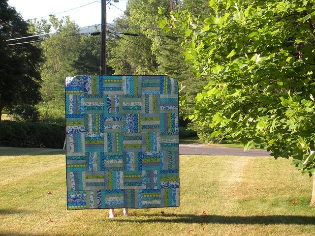 1000+ images about Quilts - rail fence on Pinterest ...