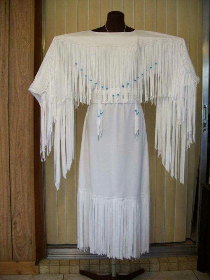 Dress Wedding Traditional Cherokee