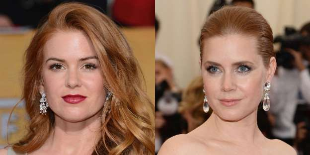 6) Isla Fisher and Amy Adams - Getty