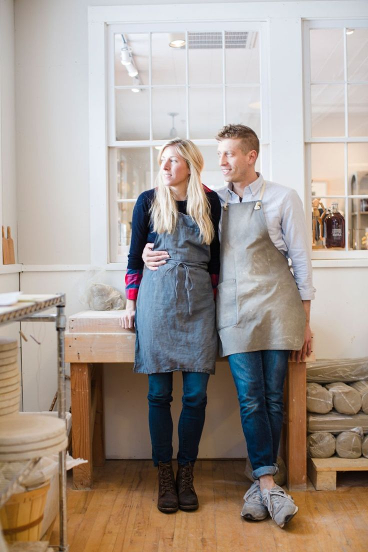 Zoe and James Zilian of Farmhouse Pottery Forerunners of America s stu
