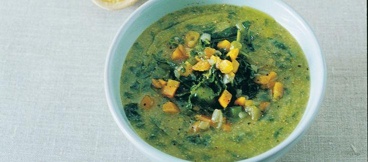 Zuppa di cavolo nero e farina gialla
