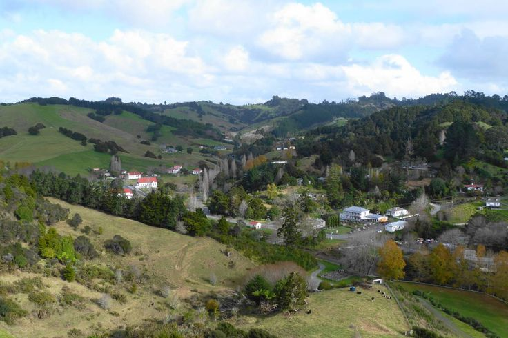 View of Puhoi FRom The Puhoi River Park