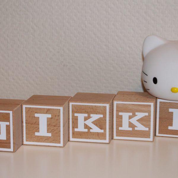 Naamblokken Nikki