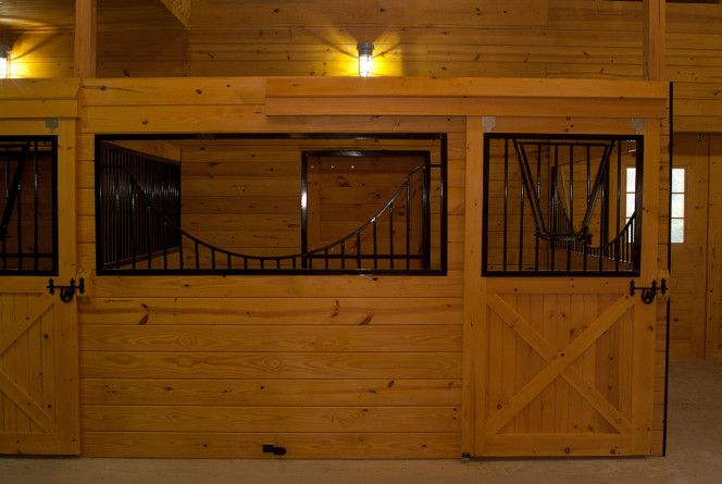 Horse stall doors barn stall doors b builders barn for Horse stall door plans