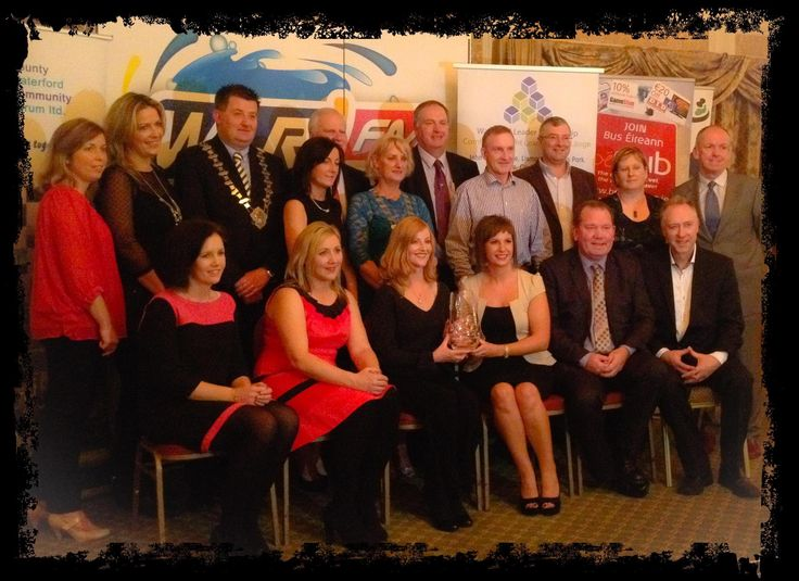 Ardmore Pattern Festival receive the award 'Overall Winners 2013' from Waterford County Community Forum at the Community and Voluntary Awards at The Park Hotel, Dungarvan.