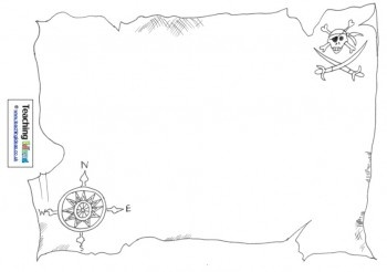 "Design a treasure map for ""Talk Like a Pirate"" day."
