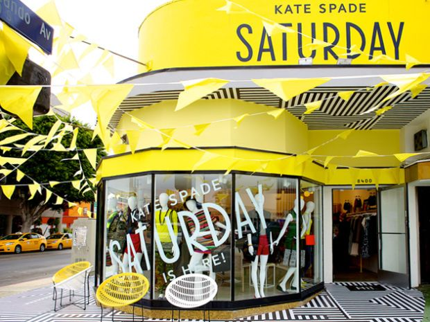 Kate Spade Saturday's L.A. store. Photo: Kate Spade