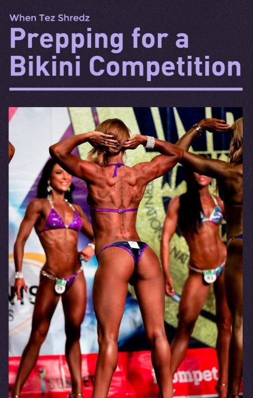 What does it take to prepare for a bikini competition? Teeghan Louise shows you how.