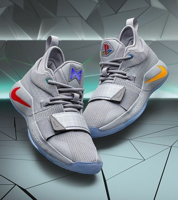 Nike Paul George Pg 2 5 X Playstation Wolf Grey Bq8388 001size Us
