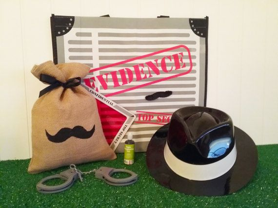 LOOT BAG  Spy Detective Secret Agent  party by theLootBagBarn