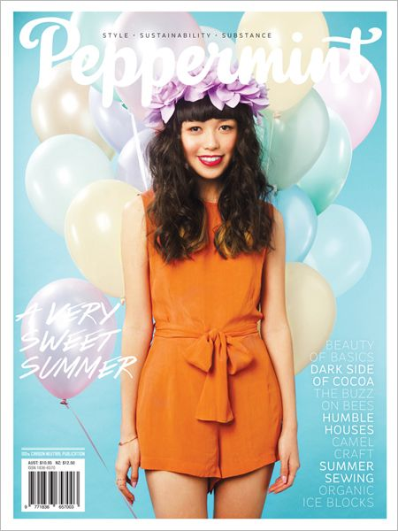 The secret life of rooftop bees and styling Summer staples in this sweet Summer issue of Peppermint magazine.