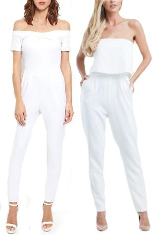 stylish jumpsuits | Day After Wedding Style Ideas for the Bride | see them all on www.onefabday.com