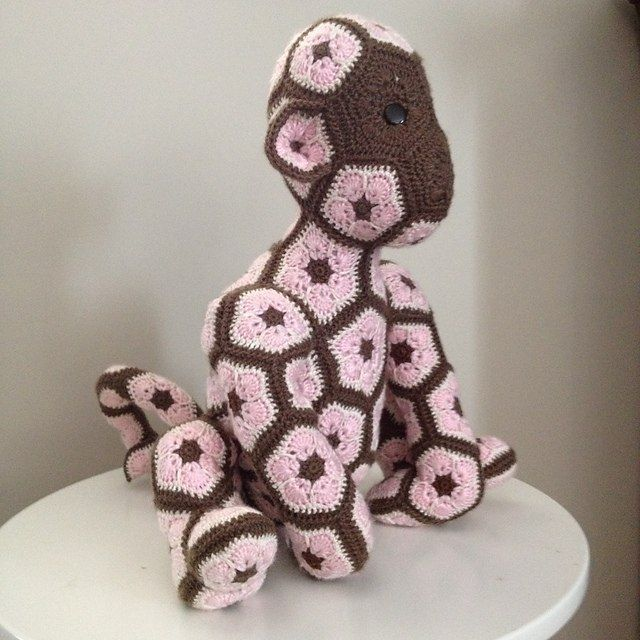 http://www.ravelry.com/projects/Lineandloops/misty-the-african-flower-monkey