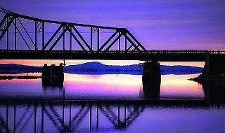 Swing bridge on Manitoulin Island! Gorgeous pic :)
