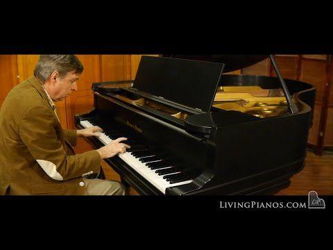 Mason & Hamlin Model AA Grand Piano - Used Mason Hamlin Piano Store - YouTube