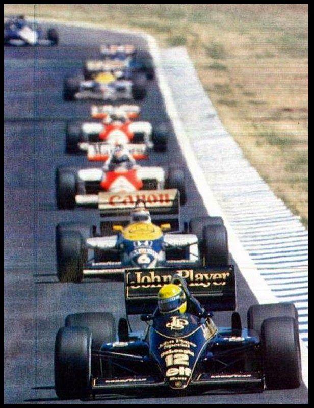 F1 Senna 1986                                                                                                                                                                                 Mais