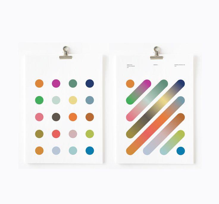 Consulter ce projet @Behance : « Damien Hirst Colour gradients » https://www.behance.net/gallery/41240487/Damien-Hirst-Colour-gradients