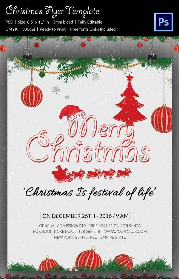 Christmas Flyer Template Free Download 60 Christmas Flyer Templates Free Psd Ai Free Christmas Flyer Templates Holiday Flyer Template Christmas Flyer Template