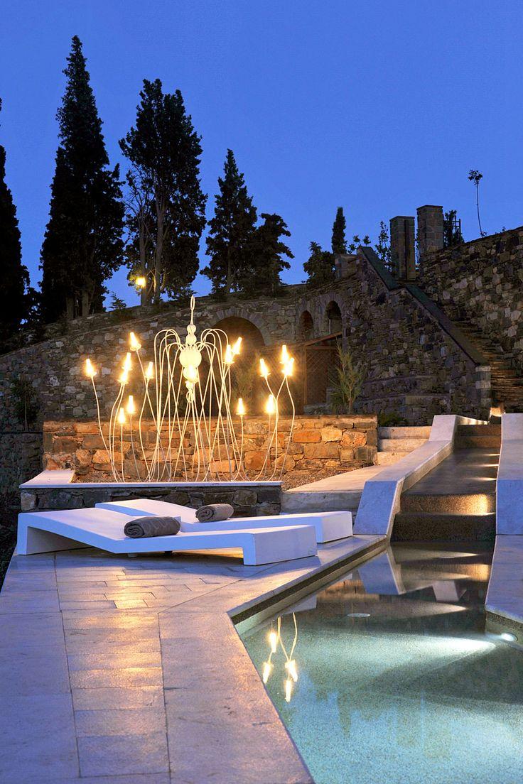 Kinsterna Hotel, Peloponnese, Greece. @iescape i-escape.com