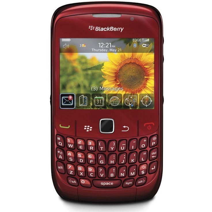 Blackberry Curve 8520 Unlocked GSM Phone - Ruby