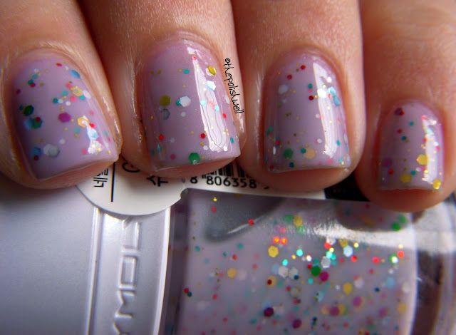 #nails - Tony Moly's Shooting Star <3: Shooting Stars, Glitter Nails, Tonymoli, Purple Nails, Nails Polish, Tony Moli, Polish Well, Gs09 Shooting, Moli Shooting