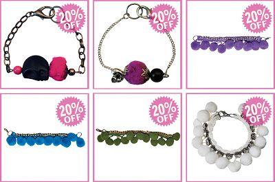 bracelet on sale off
